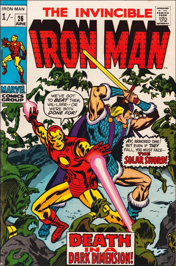 Iron Man (1968) 26-B by Marvel