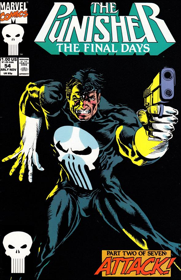 Punisher (1987) 54-A by Marvel