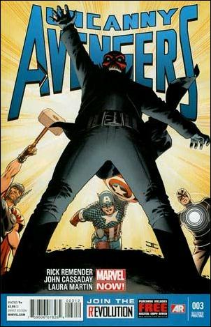 Uncanny Avengers 3-C by Marvel