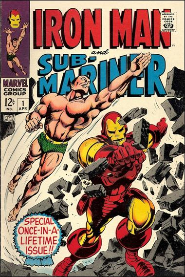 Iron Man & Sub-Mariner 1-A by Marvel