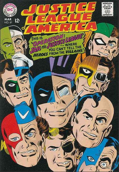 Justice League of America (1960) 61-A by DC