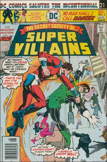 Secret Society of Super-Villains 2-A by DC