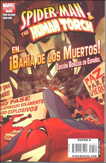 Spider-Man & The Human Torch in...Bahia de los Muertos! 1-B by Marvel
