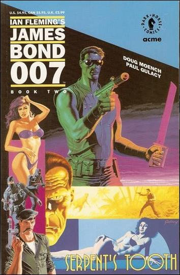 James Bond 007: Serpent's Tooth 2-A by Dark Horse