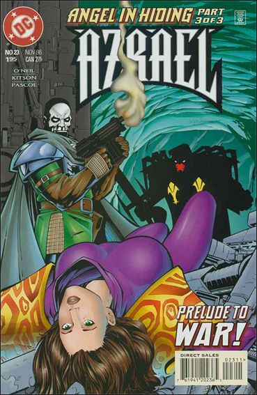 Azrael (1995) 23-A by DC