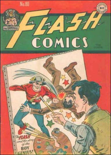Flash Comics (1939) 80-A by DC