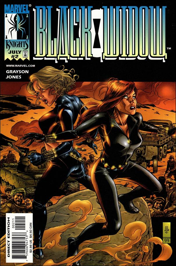 Black Widow (1999) 2-A by Marvel