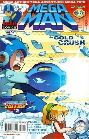 Mega Man 22-A by Archie