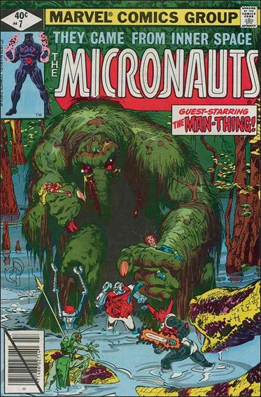 Micronauts (1979) 7-A by Marvel