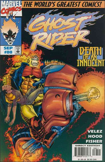 Ghost Rider (1990) 88-A by Marvel