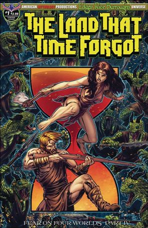Edgar Rice Burroughs' The Land That Time Forgot: Fear on Four Worlds 1-B