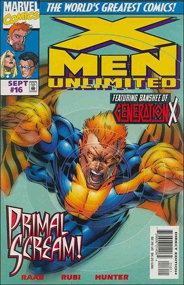 X-Men Unlimited (1993) 16-A by Marvel