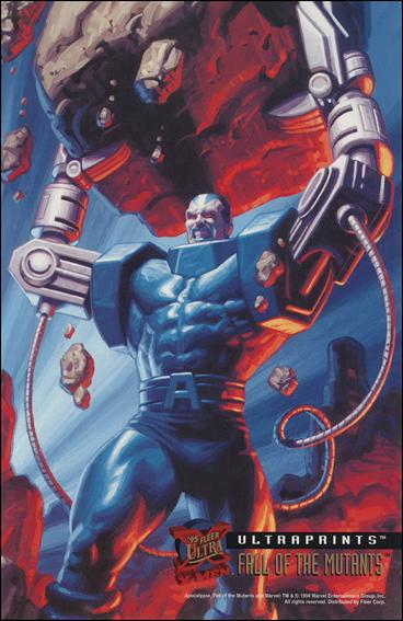 1995 Fleer Ultra X-Men (Ultraprints Subset) 4-A by Fleer