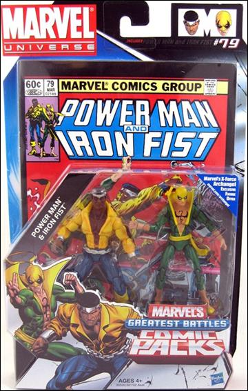 Marvel Universe: Marvel's Greatest Battles (Comic-Packs) Power Man and Iron Fist by Hasbro