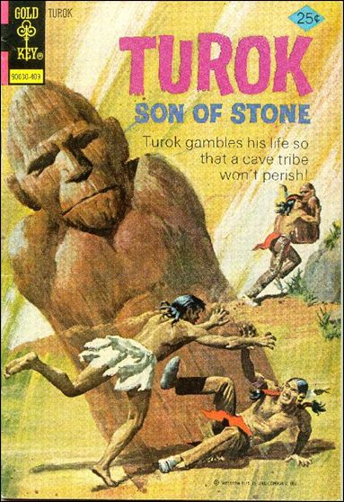 Turok, Son of Stone (1956) 92-A by Gold Key