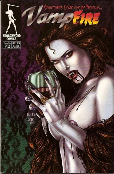 VampFire (2000) 2-B by BroadSword Comics
