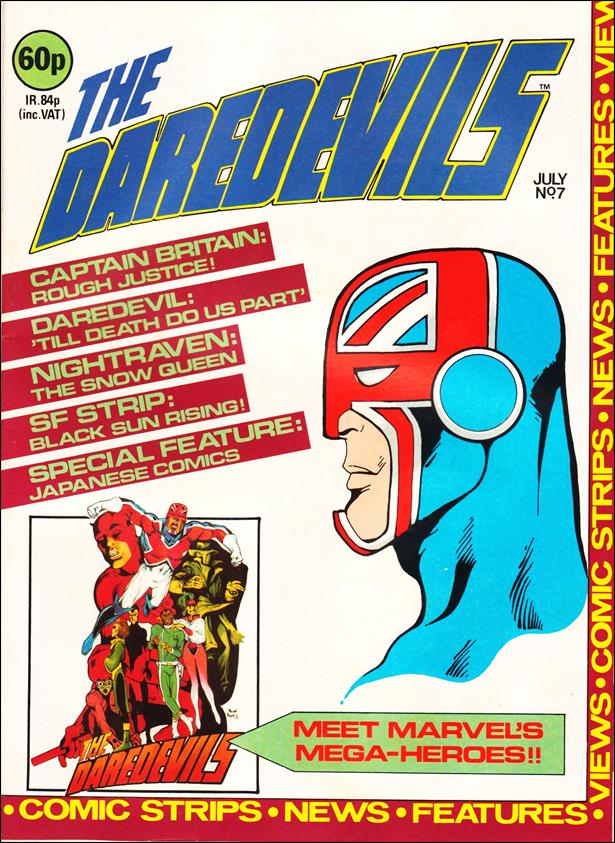 Daredevils (UK) 7-A by Marvel UK