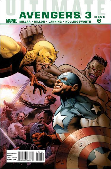 Ultimate Avengers 18-A by Marvel