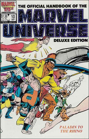 Official Handbook of the Marvel Universe (1985) 10-A by Marvel