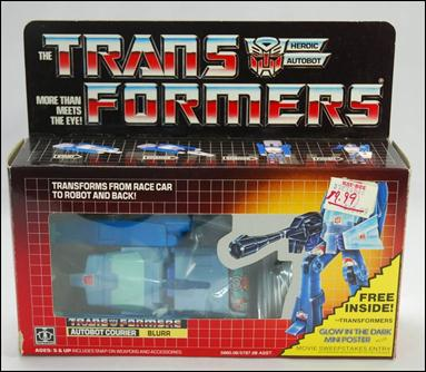 Transformers: More Than Meets the Eye (Generation 1) Blurr (Autobot Courier) by Hasbro