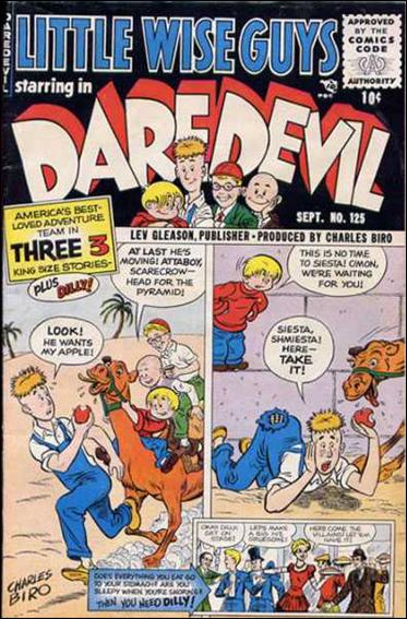 Daredevil (1941) 125-A by Lev Gleason Productions