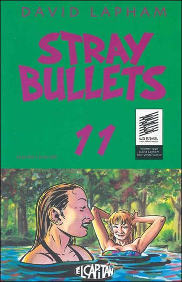 Stray Bullets 11-A by El Capitan
