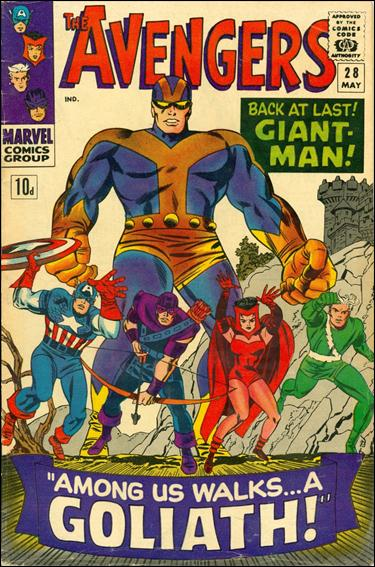 Avengers (1963) 28-B by Marvel