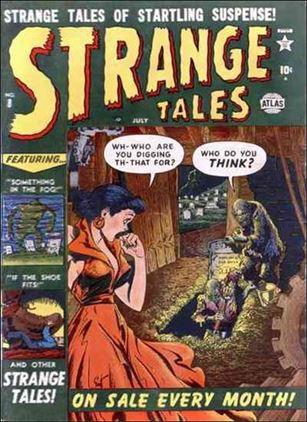 Strange Tales (1951) 8-A