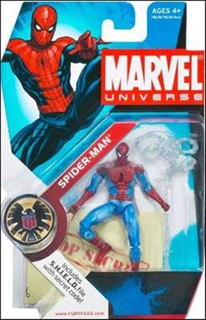 Marvel Universe (Series 1) Spider-Man (Red & Blue Costume)
