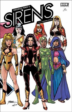 George Perez's Sirens 6-A