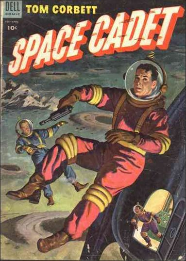 Tom Corbett, Space Cadet (1953) 9-A by Dell