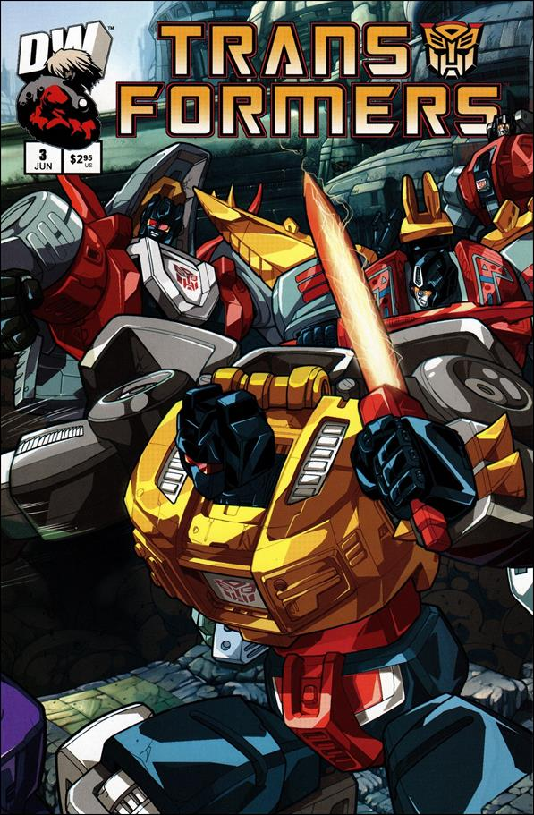 Transformers: Generation 1 (2003) 3-B by Dreamwave