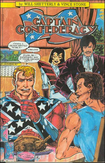 Captain Confederacy (1986) 0-A by SteelDragon Press