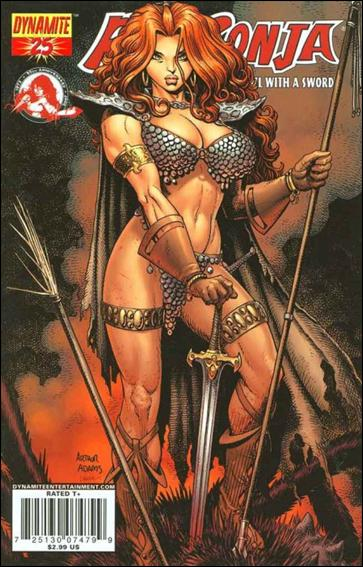 Red Sonja 25-A by Dynamite Entertainment
