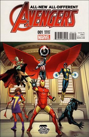 All-New, All-Different Avengers 1-J