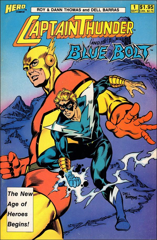 Captain Thunder and Blue Bolt (1987) 1-A by Hero Comics