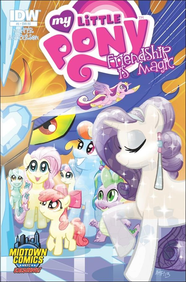 My Little Pony: Friendship is Magic 5-E by IDW