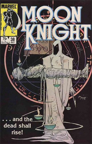 Moon Knight (1980) 38-A by Marvel