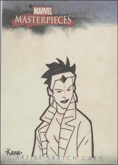 2007 Marvel Masterpieces (Sketch Card Subset) TK-A by Upper Deck