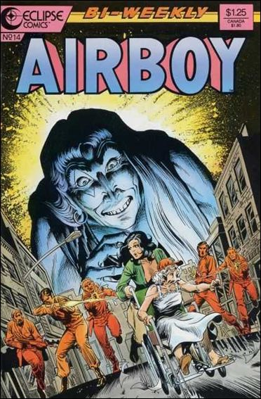 Airboy (1986) 14-A by Eclipse