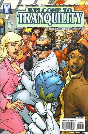 Welcome to Tranquility: One Foot in the Grave 1-A by WildStorm