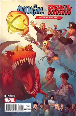 Moon Girl and Devil Dinosaur 7-C