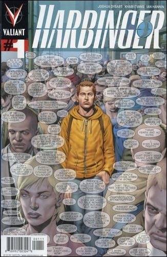 Harbinger (2012) 1-A by Valiant Entertainment