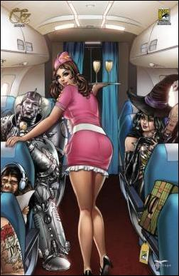 Grimm Fairy Tales Presents Oz 1-F by Zenescope Entertainment