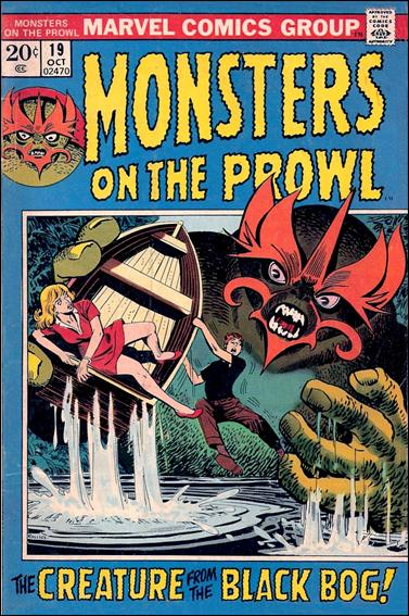 Monsters on the Prowl 19-A by Marvel