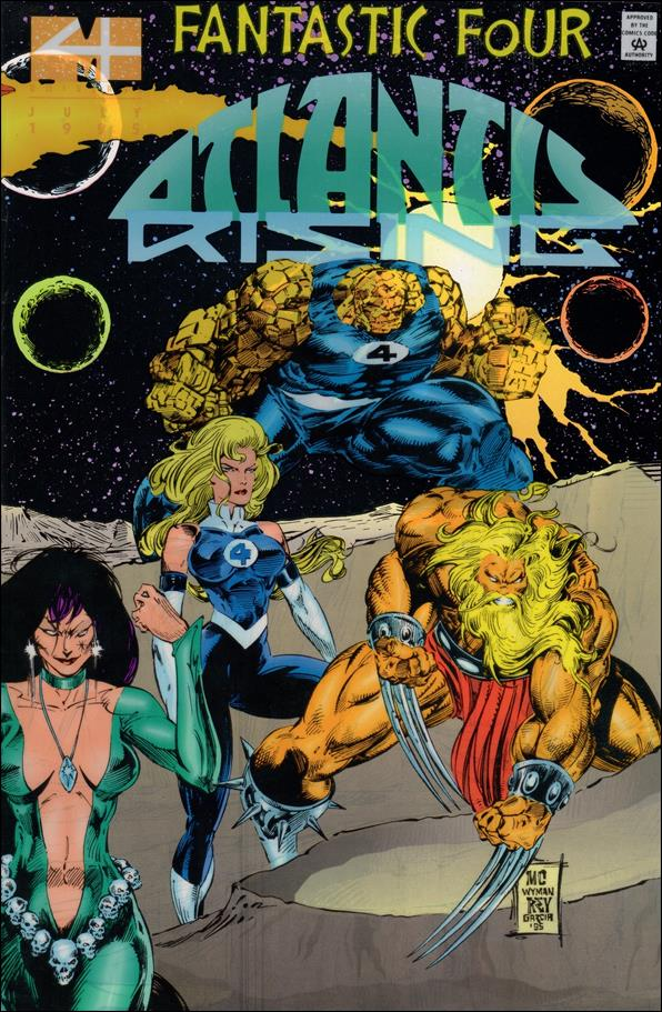 Fantastic Four: Atlantis Rising 2-A by Marvel