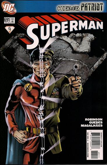 Superman (1939) 691-A by DC