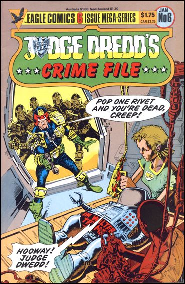 Judge Dredd's Crime File 6-A by Eagle