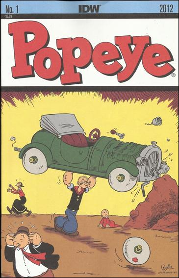 Popeye (2012) 1-A by IDW