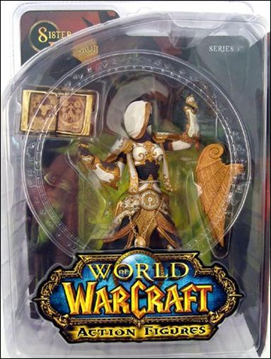 World of Warcraft (Series 3) Sister Benedron (Human Priestess) by DC Direct